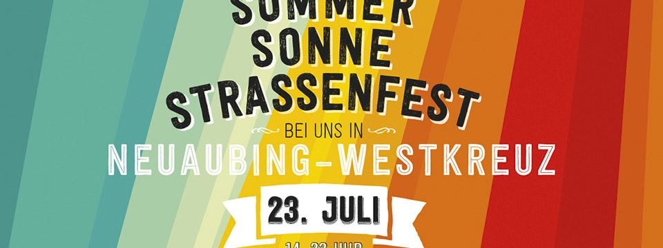 Sommer Sonne Straßenfest …