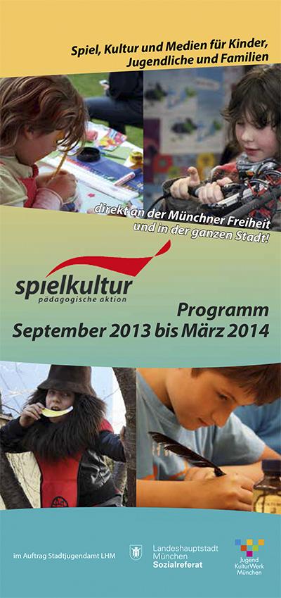 Das neue Programm der PA/SPIELkultur ist soeben erschienen
