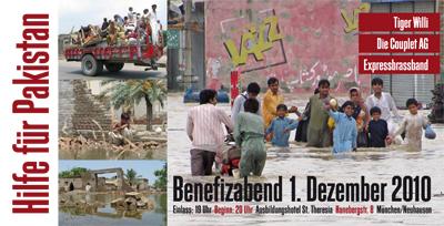 Hilfe für Pakistan