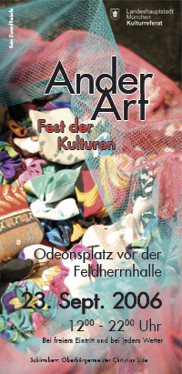 Ander Art - Fest der Kulturen 2006 - Programmheft