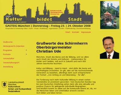 Forum-Veranstaltung im Münchner Gasteig