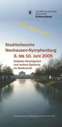 Stadtteilwochen 2005 Neuhausen, Nymphenburg - Programmheft